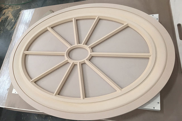 CNC machining skylight